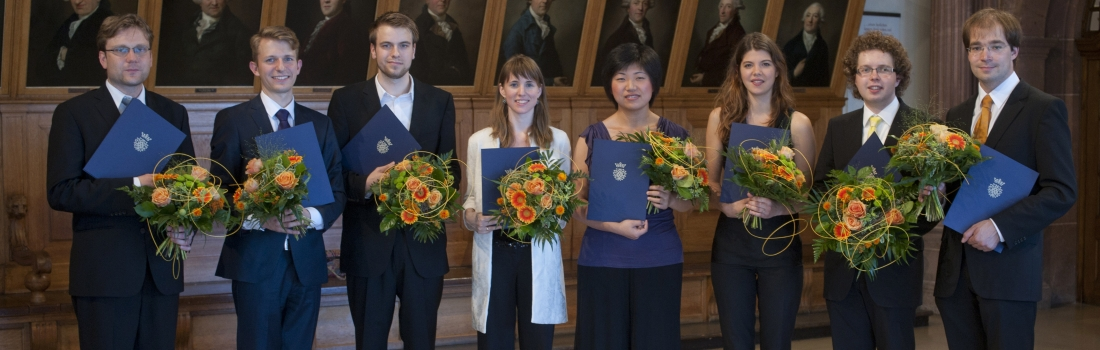 The Prize Winners of the Bach Competition 2012