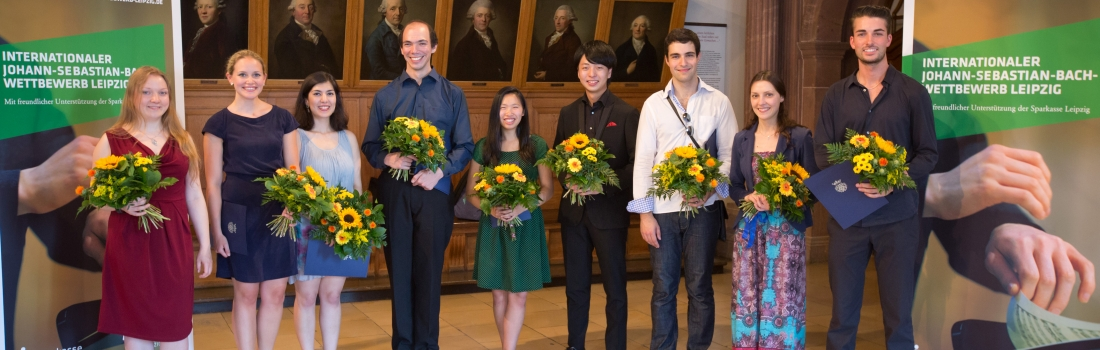 Die Gewinner des Bach-Wettbewerbs 2014