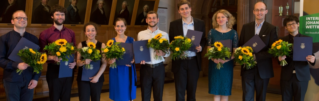 The Prize Winners of the Bach Competition 2016