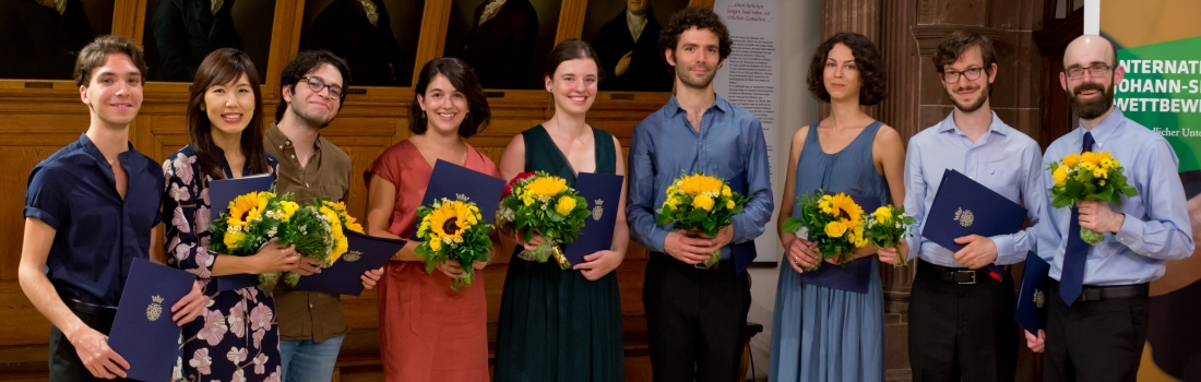 The Prize Winners of the Bach Competition 2018